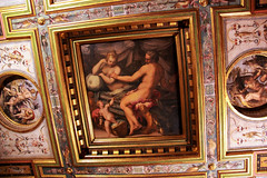 Room of Hercules in Palazzo Vecchio - Florence, Italy (The Web Ninja) Tags: travel italy color colour history architecture painting greek photography photo florence italian mural colorful europe paint palace historic explore architect firenze palazzo mythology renaissance medici hercules florentine palazzovecchio explored