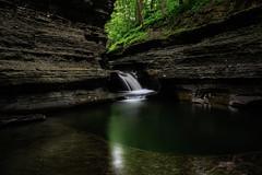 Buttermilk Falls (A.Williams Imaging) Tags: longexposure green nature water waterfall falls waterfalls emerald silky