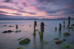 Rossbeigh Strand, Kerry (Paul O'B) Tags: longexposure ireland sunset sea strand kerry rossbeigh paulobrien