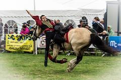 Backwards (One Eye Coombs) Tags: horse backwards trick rider