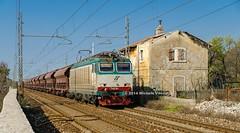 652.067  + Tadds-z wagons (atropo8) Tags: italy train nikon merci zug loco cargo treno tigre freight trieste trenitalia d7000 visogliano 652067