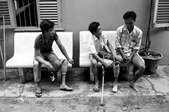 amputee_bw_01web_flickr (carrollfoto) Tags: cambodia amputee rehabilitationcentre amputees landminevictims artificiallimbs prostheticlimbs