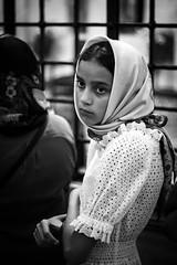 Bari (errenne) Tags: portrait people blackandwhite italy church girl face san italia nicola cathedral ritratto puglia bari biancoenero cripta cattedrale ortodossi