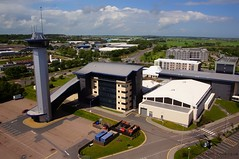 Aerial Pictures of the AECC Tower (bestviewedfromabove.co.uk) Tags: pictures from above city bridge tower photography scotland sony aerial best 106 aberdeen aecc don fm tow viewed s800 fpv orginal aerialpicture dji ab23 bestviewedfromabove sonynex5n