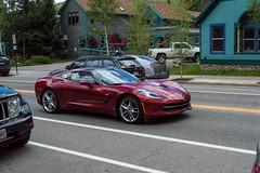 Chevrolet Corvette Stingray (sean.m.c photography) Tags: street new red cloud black chevrolet nikon colorado driving stingray chrome spotted corvette coupe relfection c7 d3200