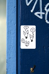 streetartbergen911 (motveggen) Tags: streetart pasteup wheatpaste bergen dyr gatekunst streetartbergen lessaboteuses motveggen