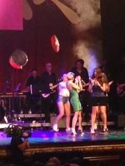 Angy en la Gala de Clausura del FesTVal de Vitoria 2014