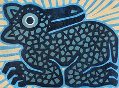 Animal (Quincal) Tags: chile color art animal sign painting poster graffiti design sketch arte graphic fineart graph catalog draw dibujos dibujo artes diseo logos draws cultura imagen afiche pintura catalogo grafica ilustracion cartel portafolio proyecto croquis grabado visuales figura xilografia quincal