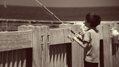 Time fishing.. (xlriton) Tags: fish israel nokia fishing day cloudy 920 lumia pureview