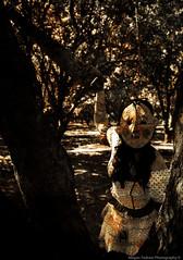Untitled (megallypuff) Tags: halloween dark saw scary blood killing orchard creepy masks killer murder bloody twisted weapons murderer raggedyann creepydolls serialkillers halloweenmasks lolitadress creepymasks megantedrowphotography