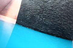 Les pierres dans l'eau (Arthus Poppler) Tags: blue black art water stone architecture temple australia canberra