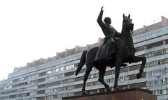 Soviet Leader Kliment Voroshilov (Randy, Dingo & Panga) Tags: union ukraine soviet ussr lugansk kliment voroshilov