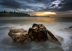 The Huddle (Mike Hankey.) Tags: seascape sunrise focus published warriewood