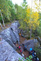 """Re-åpning"" av klatrefeltet på Fåberg 17/9-14"