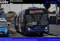 G08v | EIM La Cisterna - Nos (Mr. Mobitec) Tags: chile santiago bus buses publictransport transporte santiagodechile transantiago intermodal transportepúblico lacisterna subus estaciónintermodal zonag troncal2 subuschile estaciónlacisterna metrolacisterna
