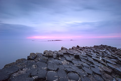 Giant's Causeway (Dariusz Wieclawski) Tags: ireland sunset nikon dusk availablelight northernireland giantscauseway d700 zf2 nikond700 distagont3518 nikondslrcarlzeiss