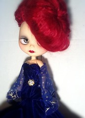 Blythe-a-Day September#22 Sapphire&#27 Who Wore It Best: Rhiannon