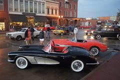 1958 Chevrolet Corvette (DVS1mn) Tags: cruise cars chevrolet car minnesota night gm saturday bowtie chevy hastings carshow generalmotors cruisenight cruisein minnesotacarshow 337440