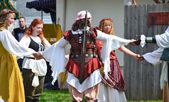 Medieval Circle Dance (MTSOfan) Tags: circle dance character holdhands buckscountyrenaissancefaire