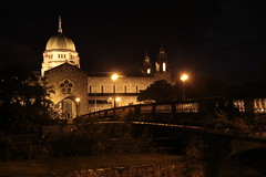 Galway cathedral by night (Xalira) Tags: ireland galway by night cathedral 2014