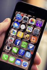 iPhone app development (fugenx_technology) Tags: holding technology close telephone internet communication equipment smartphone chrome mobilephone merchandise wirelesstechnology ios operatingsystem mobility facebook socialnetworking productshot iphone applecomputers taskmanager applemacintosh computericon liquidcrystaldisplay iconset onlinemessaging iphone5 globalcommunications lockscreen applicationsoftware whatsapp instagram ios7 applicationsclose activeapplications