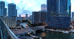View from Icon Miami (miamism) Tags: sunset coffee cafe yum miami espresso marron miamiriver cafecito miamiviews cortado downtownmiami espumita cortadito miamisunset miamisky iconbrickell coffeewithaview iconmiami igmcafecito iconviews