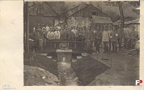 Ujęcie wykonane przez żołnierzy niemieckich, 1915-1918r. (fotopolska.eu)