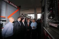 Visita aos Bombeiros Voluntários de Ansião