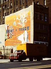 NYC 1980 Mural (streamer020nl) Tags: new york nyc newyork truck mural 2000 manhattan 1980 3000 wallpainting 1000