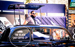 11. The Black Cab Coffee Co. (mohammed.adnan) Tags: light summer sun sunlight black brick london coffee sunshine canon beard shine purple market drink sold cab taxi beverage hipster stall east company drinks lane shoreditch co vendor sell whitechapel selling customers eastlondon sells 600d