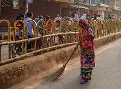 Street Sweeper (alphonso49uk) Tags: streetsweeper varanasi india