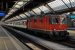 SBB -  Re 4/4  11126 (Szászgáspár Szabolcs) Tags: sbb re 44 zürich hb switzerland swiss zug trains tren vonat svájc mozdony elvetia