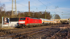DB 189 049 heads EZ 45715 Kijfhoek - Köln Gremberg Gnf into Ratingen Lintorf (37001 overseas) Tags: class189 ez45715 ez 45715 kijfhoek gremberg köln ratingen ratingenlintorf deutschebahn db dbschenker dbcargo 189049 1890490
