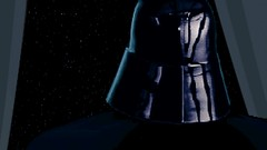 The Dark Lord (BarricadeCaptures) Tags: star wars dark forces mission ii talay tak base after massacre cutscene lord darth vader executor bridge game screenshot screencap