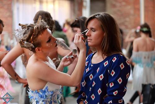 Backstage 11th Annual Paper Fashion Show