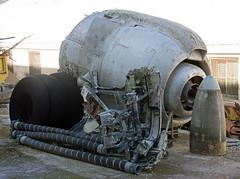 Wright R-3350 engine (Irish251) Tags: wright r3350 engine 5ttaf lockheed super constellation malta aviation museum taqali takali aircraft preserved