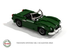 Triumph Spitfire Mk I Roadster (1962) (lego911) Tags: uk england classic plane airplane fighter britain render aircraft aviation military wwii great convertible rollsroyce aeroplane triumph gb british spitfire 1960s 1962 challenge 1941 raf supercharger cad 79 lugnuts roadster povray v12 vickers battleofbritain supermarine ldd mki merline mkvb fightercommand lugnutsgoeswingnuts
