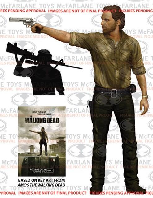 「官方圖片公佈」麥法蘭「THE WALKING DEAD」10吋系列第2彈!瑞克警長登場~