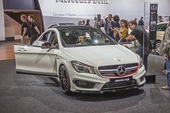 AMI Leipzig 2014 - Mercedes-Benz CLA 45 AMG 4Matic (www.nbfotos.de) Tags: auto car mercedes benz au leipzig ami mercedesbenz messe amg automobil automesse 4matic automobilmesse automobilinternational cla45 claklasse