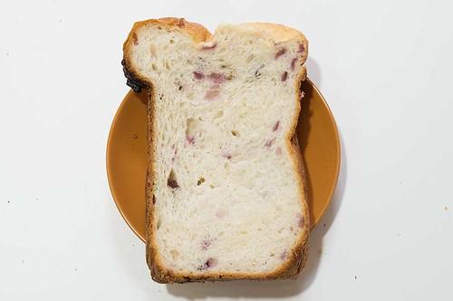 つぶジャム ブルーベリーとレーズンの入ったパン