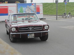 Ford Mustang Convertible 1965 (v8dub) Tags: auto old classic ford car germany deutschland automobile muscle convertible automotive voiture pony oldtimer mustang oldcar cabrio allemagne bremerhaven collector 1965 cabriolet niedersachsen wagen pkw klassik worldcars