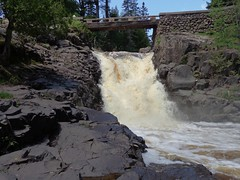 6 Amity Falls (Waterfalling in Wisconsin) Tags: park minnesota waterfall falls lester duluth amity