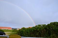Urlaub Dnemark 2014 (bunkertouren) Tags: sky rainbow urlaub natur himmel wolke wolken fjord rainbows dnemark regen regenbogen ringkbing naturschauspiel regenbgen