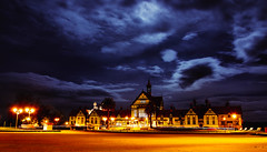 Rotorua Museum at night (ildefoto) Tags: travel newzealand christchurch holiday islands rotorua pacific auckland lotr nz northisland southisland dunedin kiwi hobbit backpacker waitomo middleearth wellinton hobbiton oceania