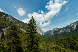Yosemite Valley -  from Tunnel View