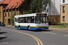 Arriva The Shires (TGM) 1559 EU56GVG (Andy4014) Tags: bus green golden pointer heathrow mini line miller harlow dennis dart 724 tgm tellings eu56gvg