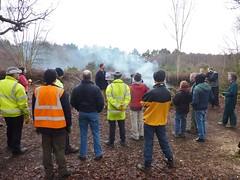 Volunteers' briefing