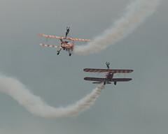 Breitling9 (Salisbury Squared) Tags: biplane stearman aerobatics breitling bigginhill wingwalkers festivalofflight