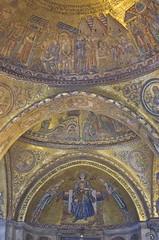 Basilica San Marco,  Venice (surreydock) Tags: venice italy mosaic mary medieval virgin virginmary byzantine sanmarco basilicasanmarco veneto ourlady