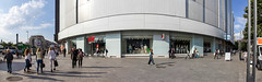 h&m (na.harii ) Tags: street city people panorama architecture canon photography eos photo pano ngc romania 5d dslr hm bucharest autofocus 5dmkii 5dmk2